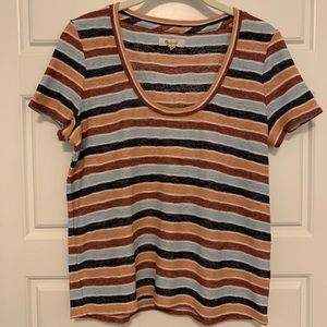 Madewell Tops - Madewell Scoop Neck T-shirt